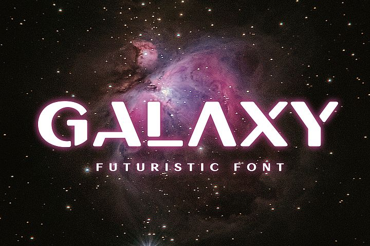Galaxy - Unique Futuristic Font
