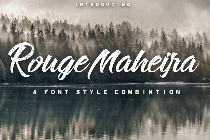 Rouge Maheira (4 font, off 30%)