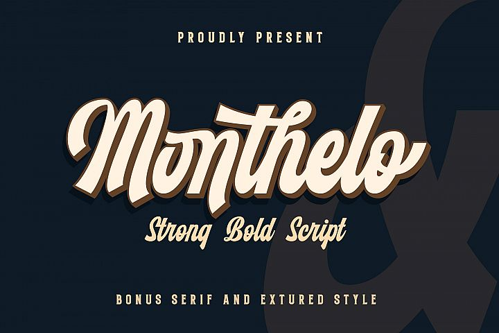 Monthelo - 3 font