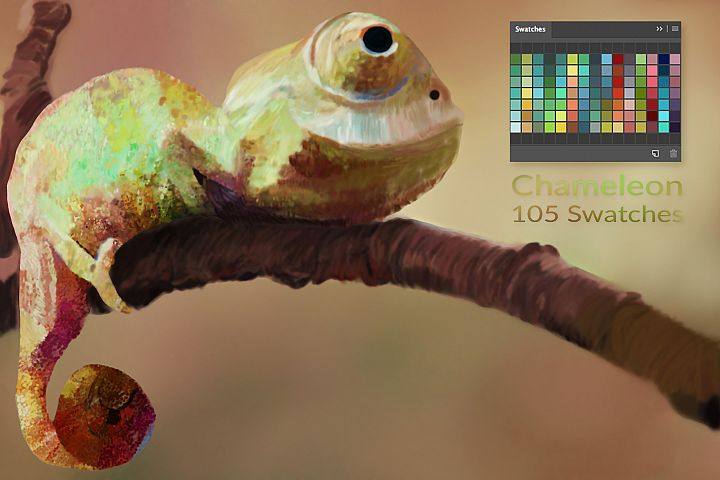 Chameleon Swatches