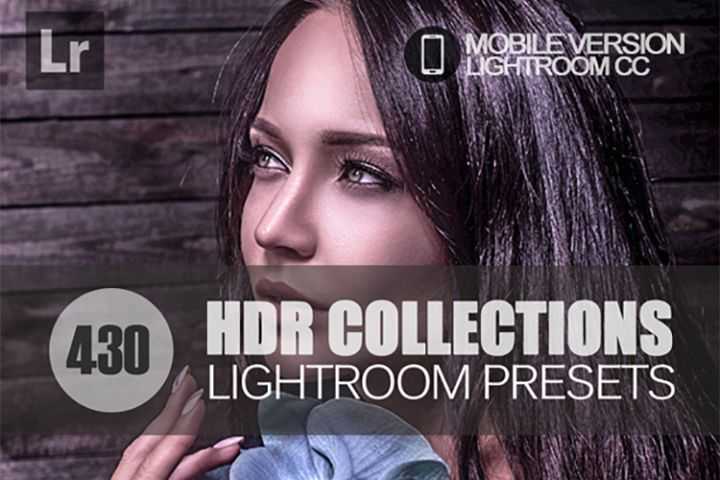 425 HDR Lightroom Mobile bundle Presets