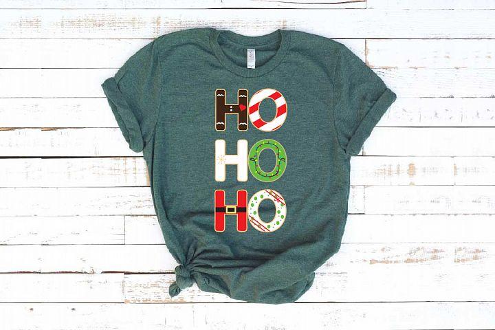 Ho! Ho! Ho!, Christmas Sweat, Christmas santa xmas 1104S