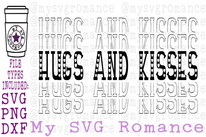 Valentines Day SVG Stacked Bundle - Mirrored Word
