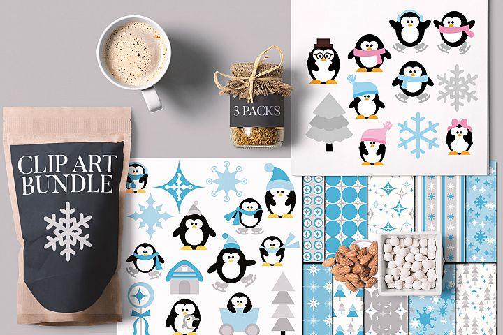 Winter Wonderland Penguins Bundle