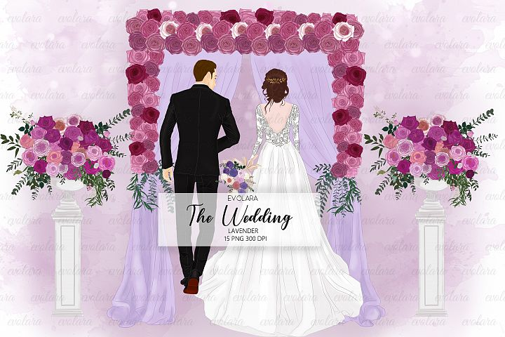 Bride Clipart Wedding Clipart Bride Groom Clipart Bridal