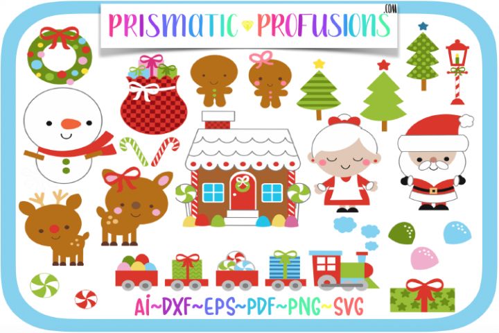 Gingerbread House, Gingerbread House SVG, Clipart