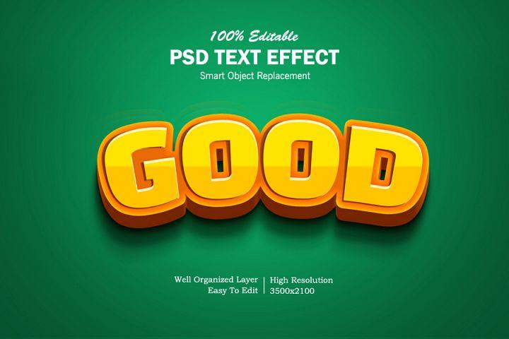 Good 3D Text Effects