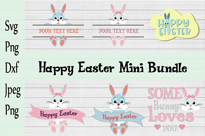 Happy Easter Mini Bundle