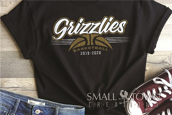 Grizzlies, Basketball, Sport, Team, Logo, PRINT, CUT, DESIGN