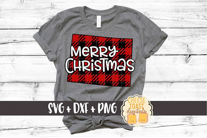 Wyoming - Buffalo Plaid State - SVG PNG DXF Cut Files