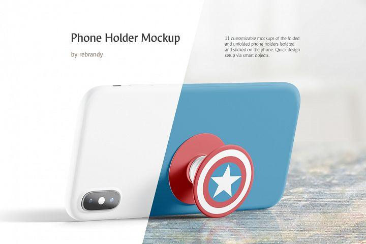 Phone Holder Mockup