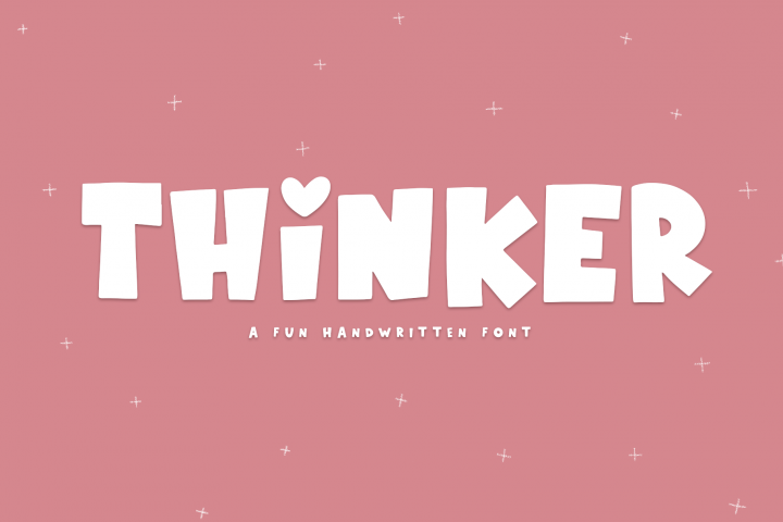 Thinker - A Fun Handwritten Font