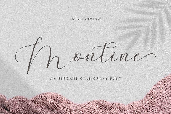 Montine Script
