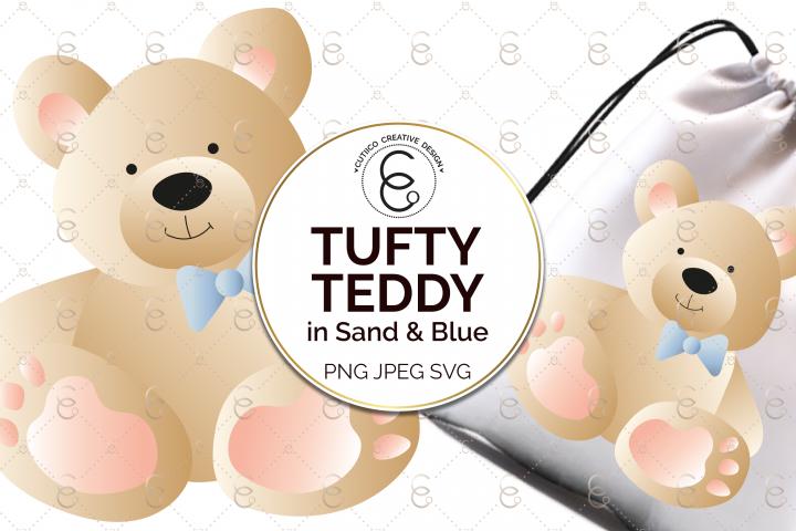 Tufty Teddy Clip Art
