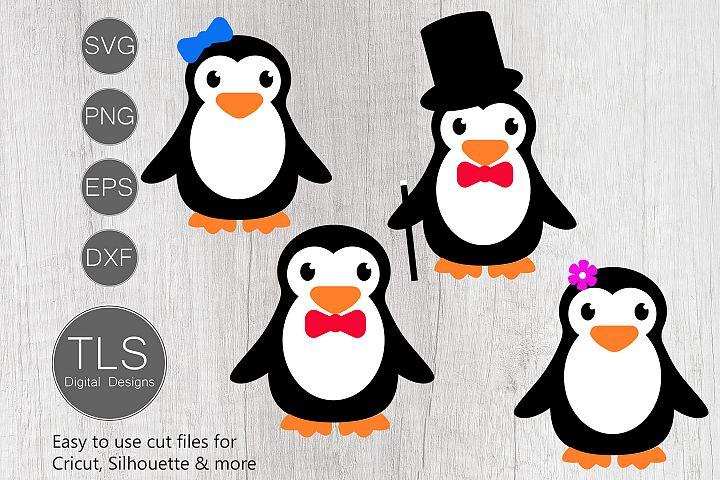 Penguin SVG, Penguin cut file