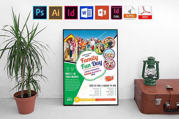 Poster | Family Fun Day Vol-03