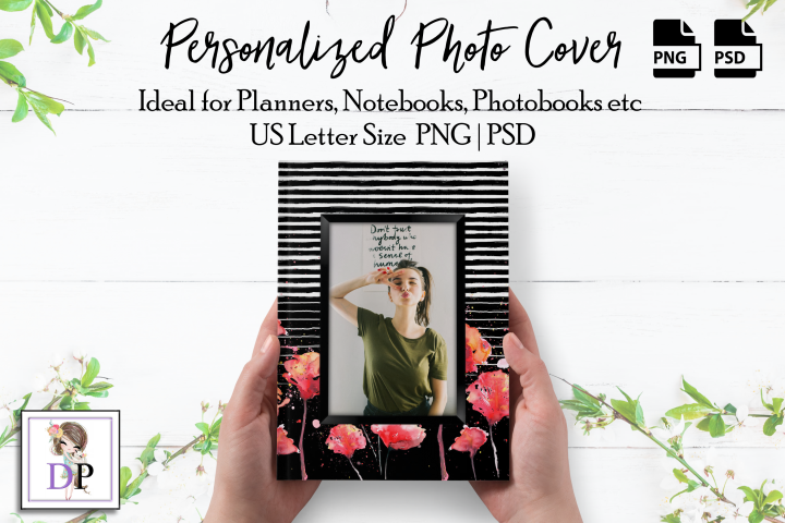 Photo Cover Frame Art for Planner, Notebook, Photobook St1 2