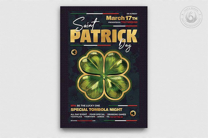 Saint Patricks Day Flyer Template V10