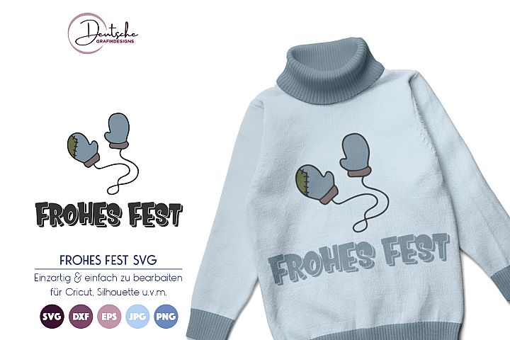 Frohes Fest SVG | Winter SVG