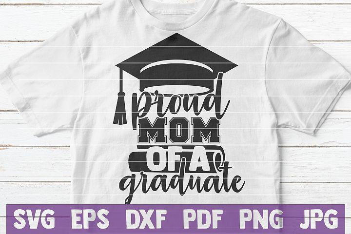 Proud Momof a Graduate SVG cut file