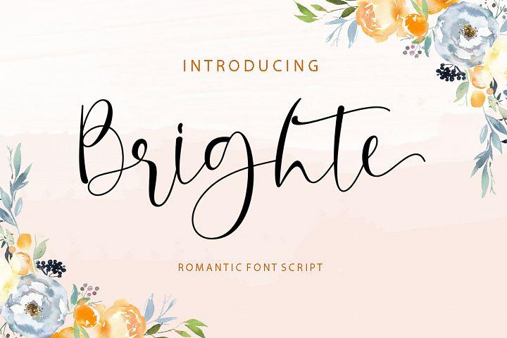 Brighte Script
