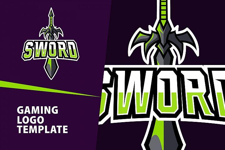 Sword Gaming Logo Template