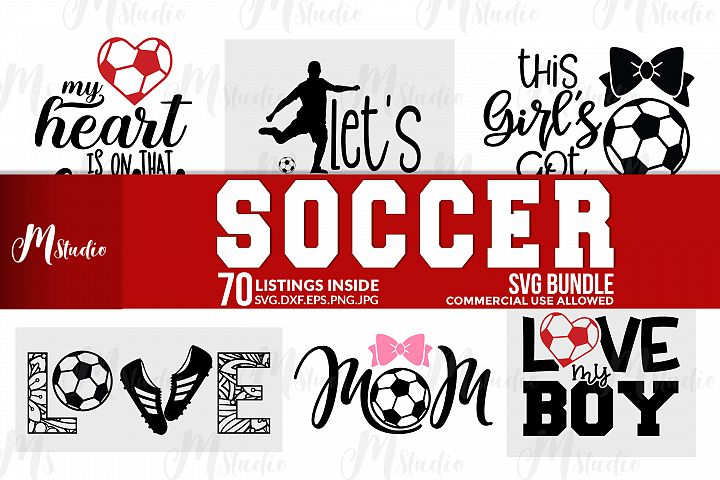 Soccer svg bundle