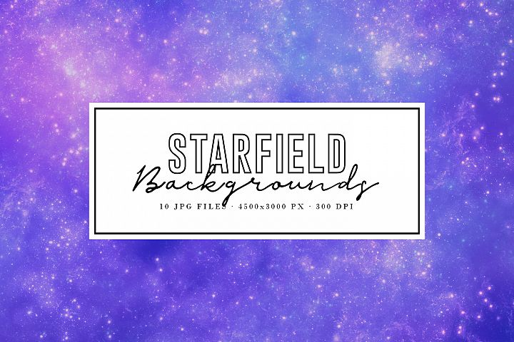 Starfield Backgrounds