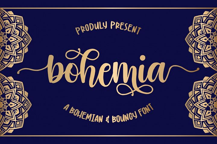 Bohemia - Modern Handlettering