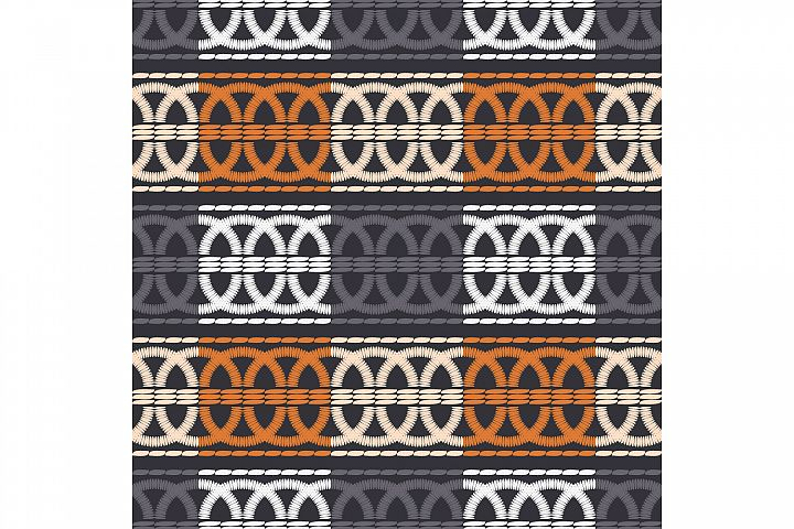 Ethnic boho ornament. Set of 10 seamless patterns.