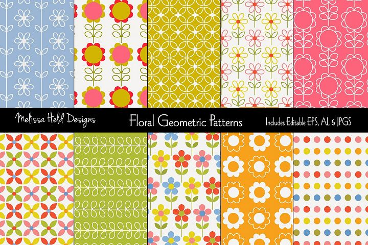 Floral Geometric Patterns