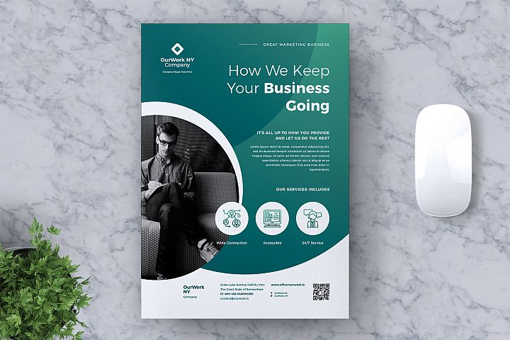 Corporate Business Flyer Vol. 04