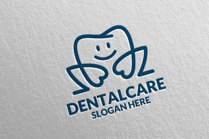 Dental Logo, Dentist Stomatology Logo Design 33