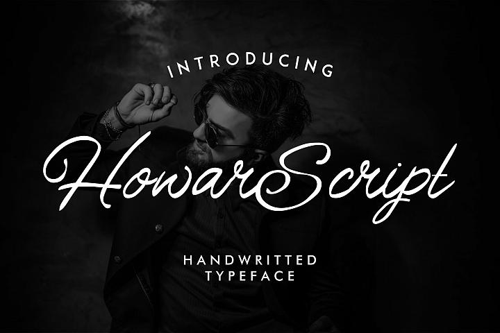 Howar Script | Elegant Handwritted