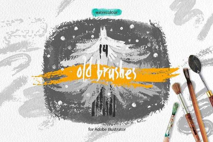 Old Brushes for Illustrator
