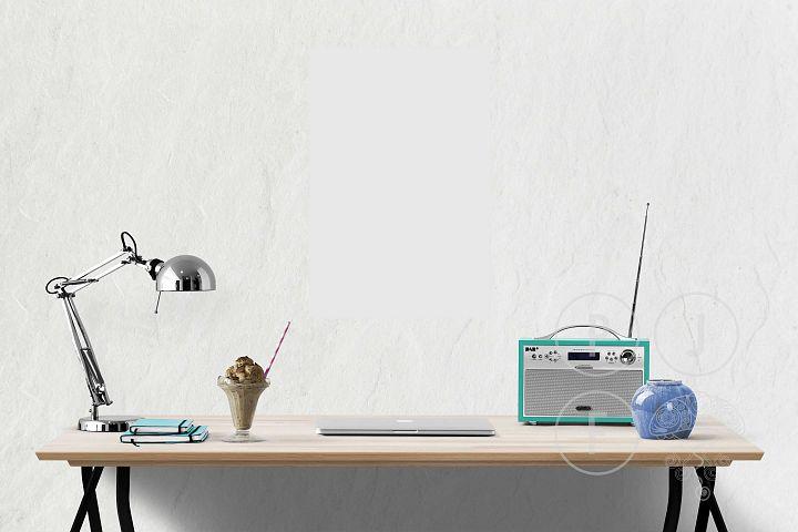 Computer mockup & desk mockup bundle - Free Design of The Week Design7