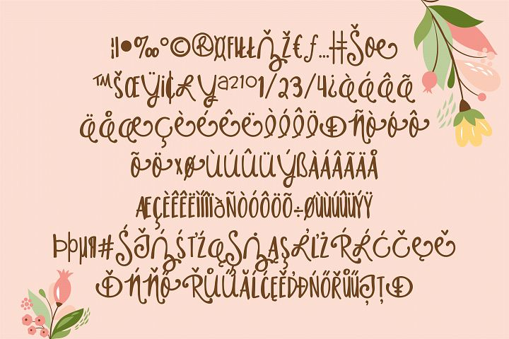PN Housewife - Free Font of The Week Design4