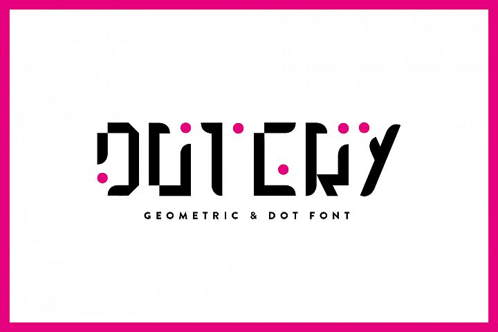 Dotery - Font Family