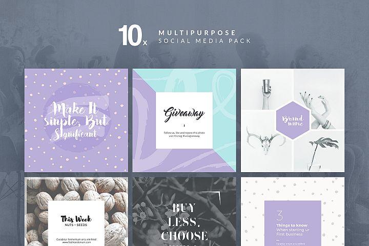 Multipurpose - Social Media Pack