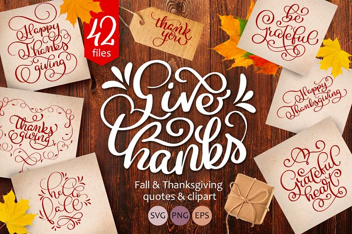 Thanksgiving quotes and clipart collection