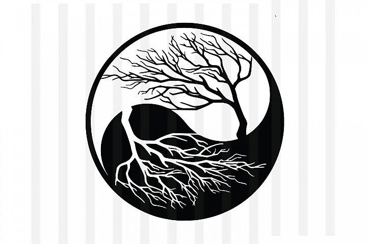 Tree,Life of tree,tree vector,Life of tee vector,,yin yang