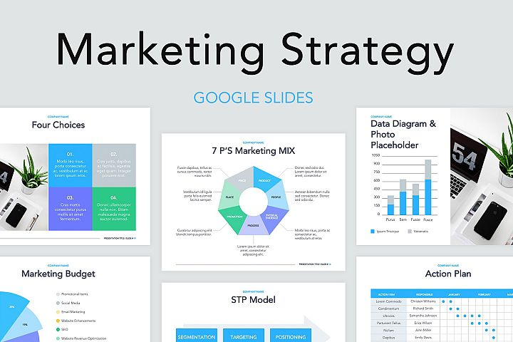 Marketing Strategy Google Slides Template