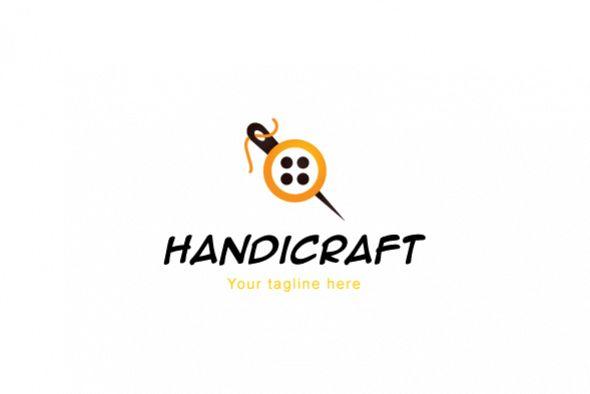 Handicraft Tailoring Logo Design Template