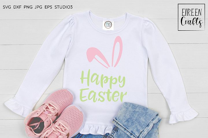 Happy Easter SVG - cut file for Cricut & Silhouette