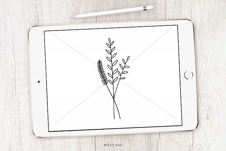 Wildflower Bouqet SVG Cutting File