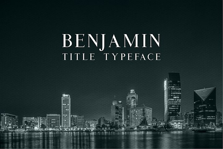 Benjamin Title - Free Font of The Week Font