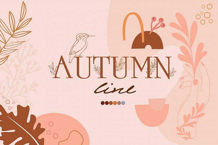 Autumn line collection
