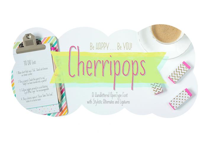 Cherripops Regular - 4 pack