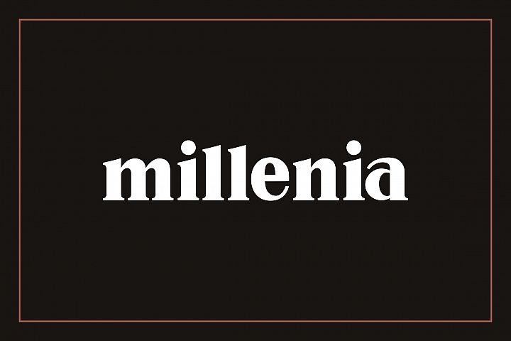 Millenia - Serif Font - Free Font of The Week Font