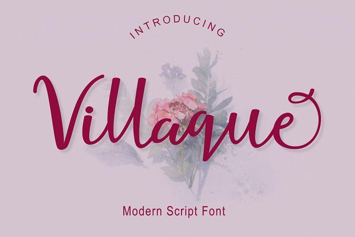 Villaque Script